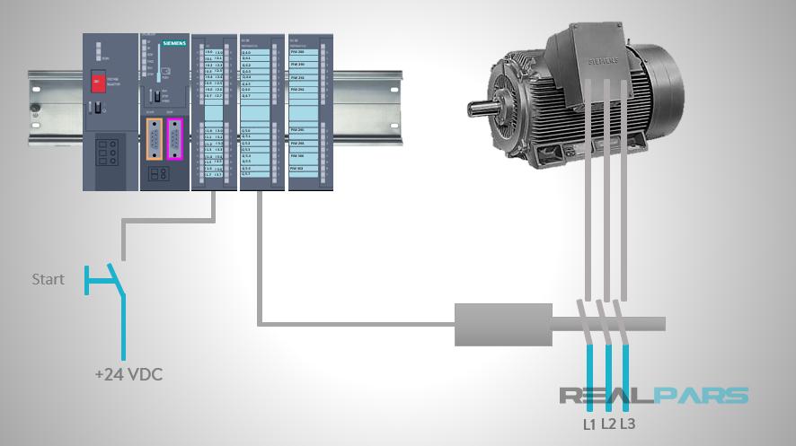 Star-Delta Starter PLC Program and Wiring – Part 2