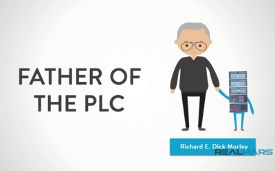 Who is the Father of the PLC and Why was it invented?