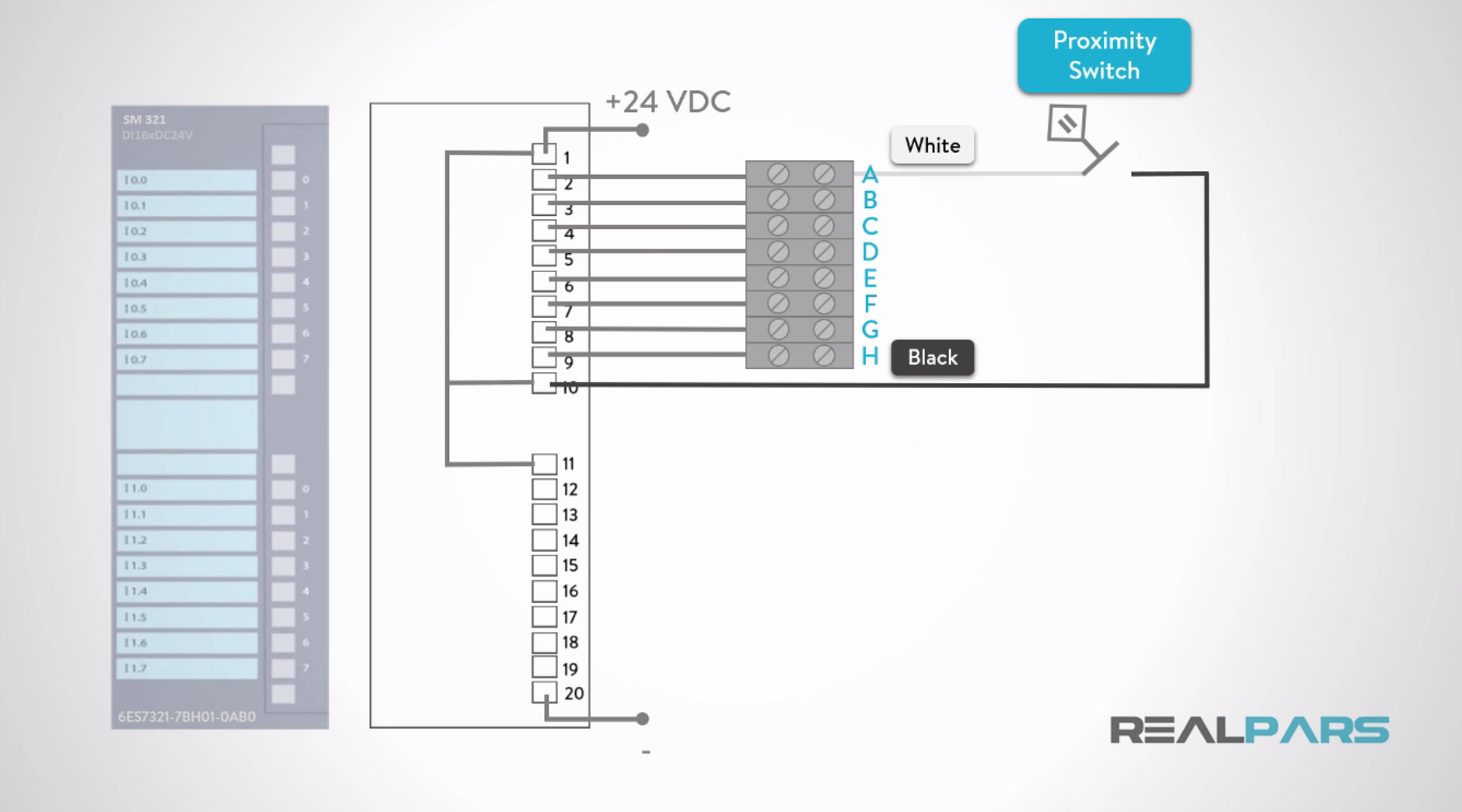 How To Wire Discrete Dc Sensors To Plc