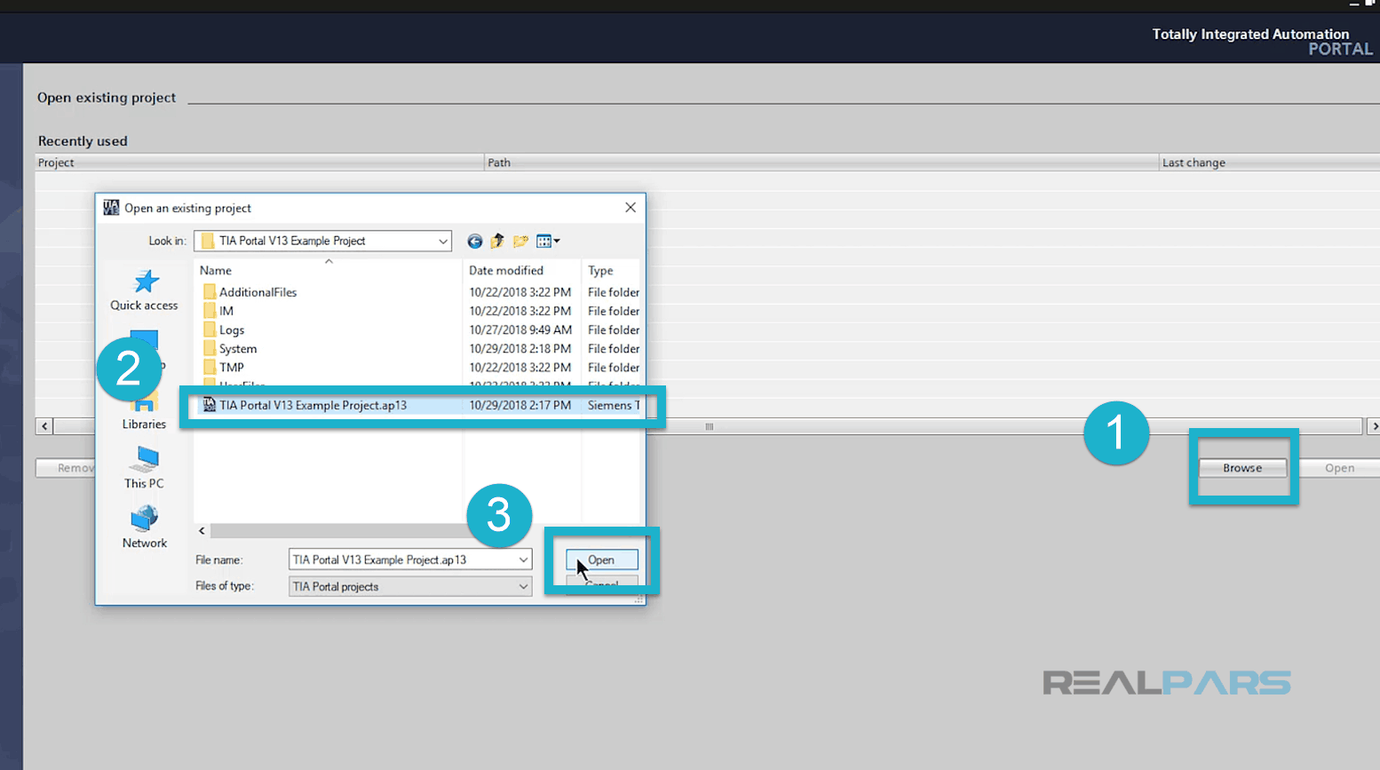 How to Open up TIA Portal V13 Projects in TIA Portal V14