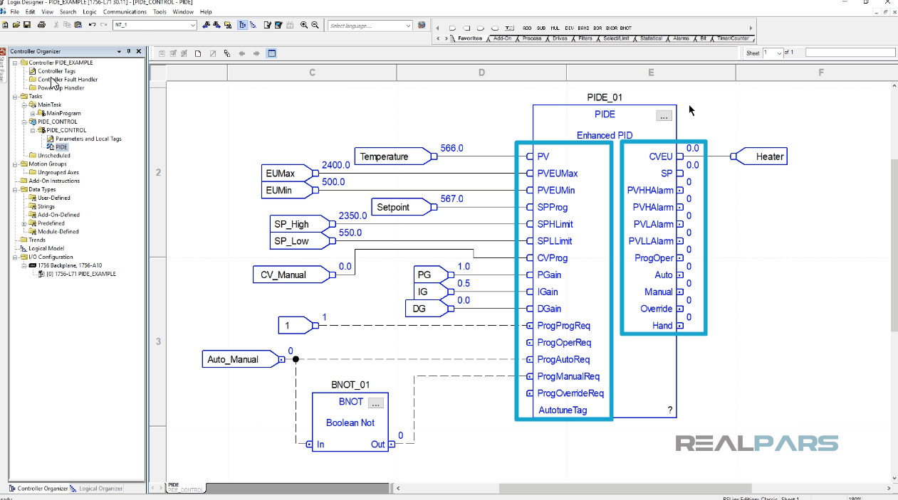 How to Program a Basic PID Loop in ControlLogix | RealPars