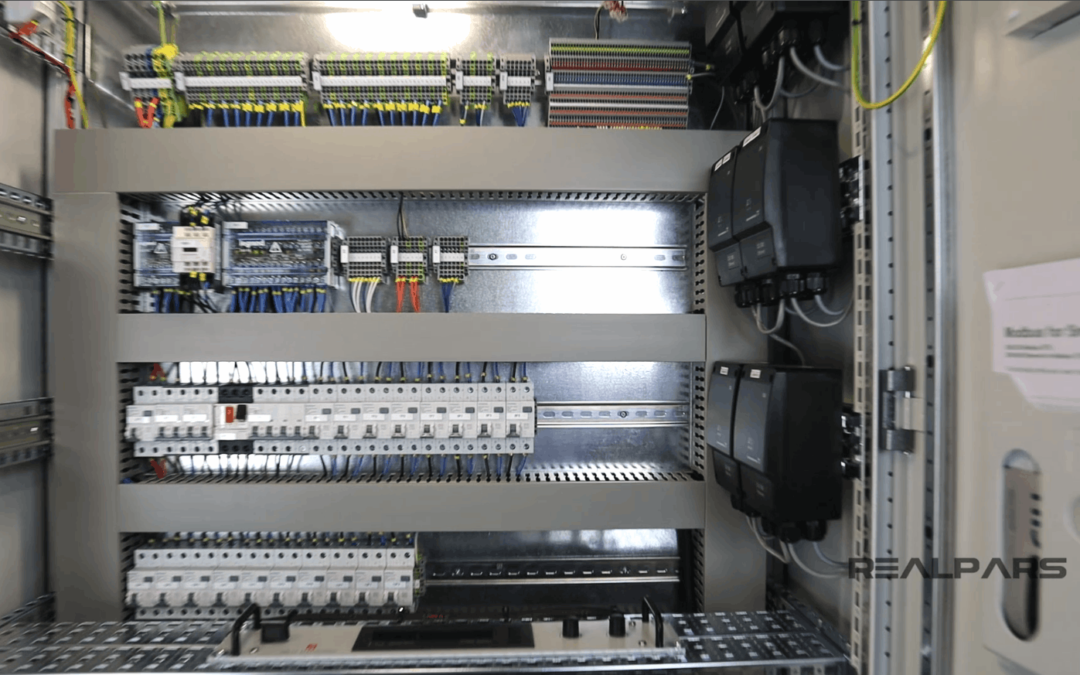 Basics of an Electrical Control Panel (Practical Example)