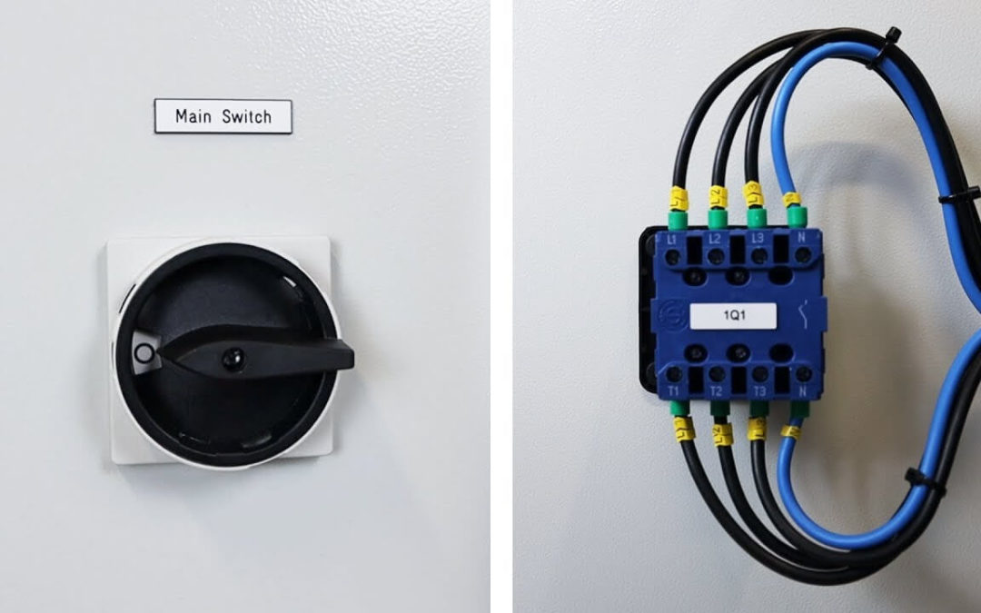 What is the Purpose of the Main Switch?