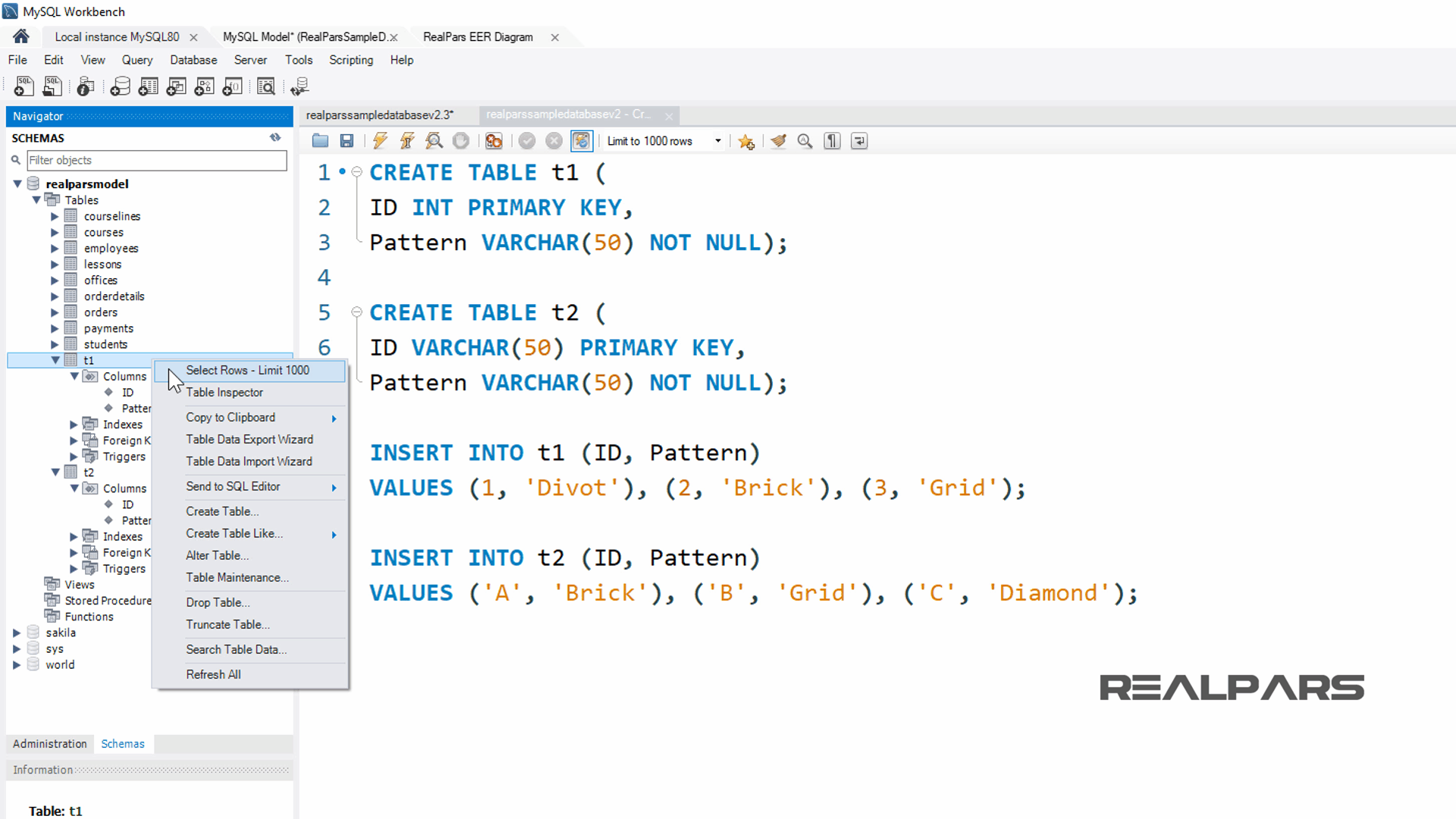 What is the SQL Create Table Clause Statement? (Part 5 of 5