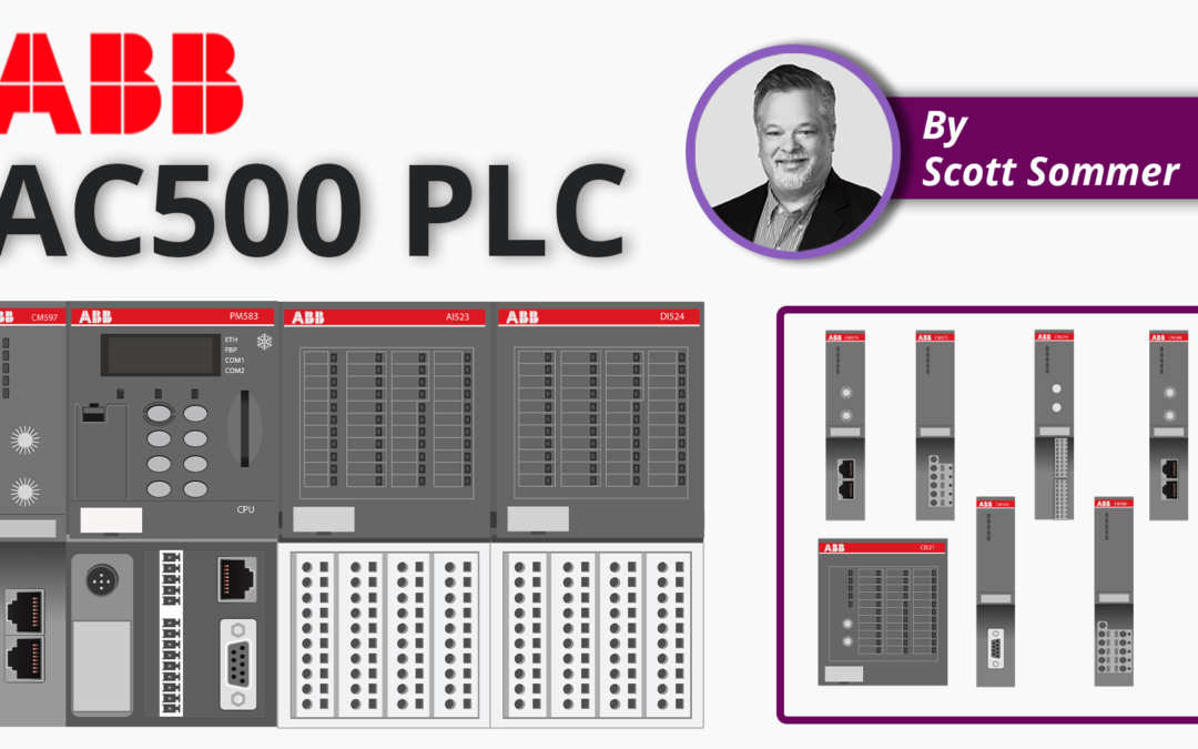 ABB PLC | An Introduction to ABB AC500 PLCs