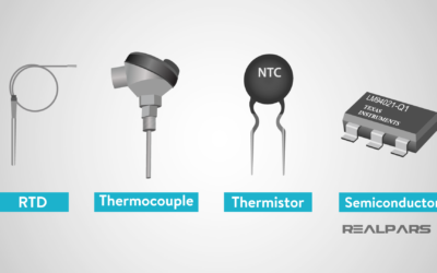 What is a Temperature Sensor? (RTD, Thermocouple, Thermistor)