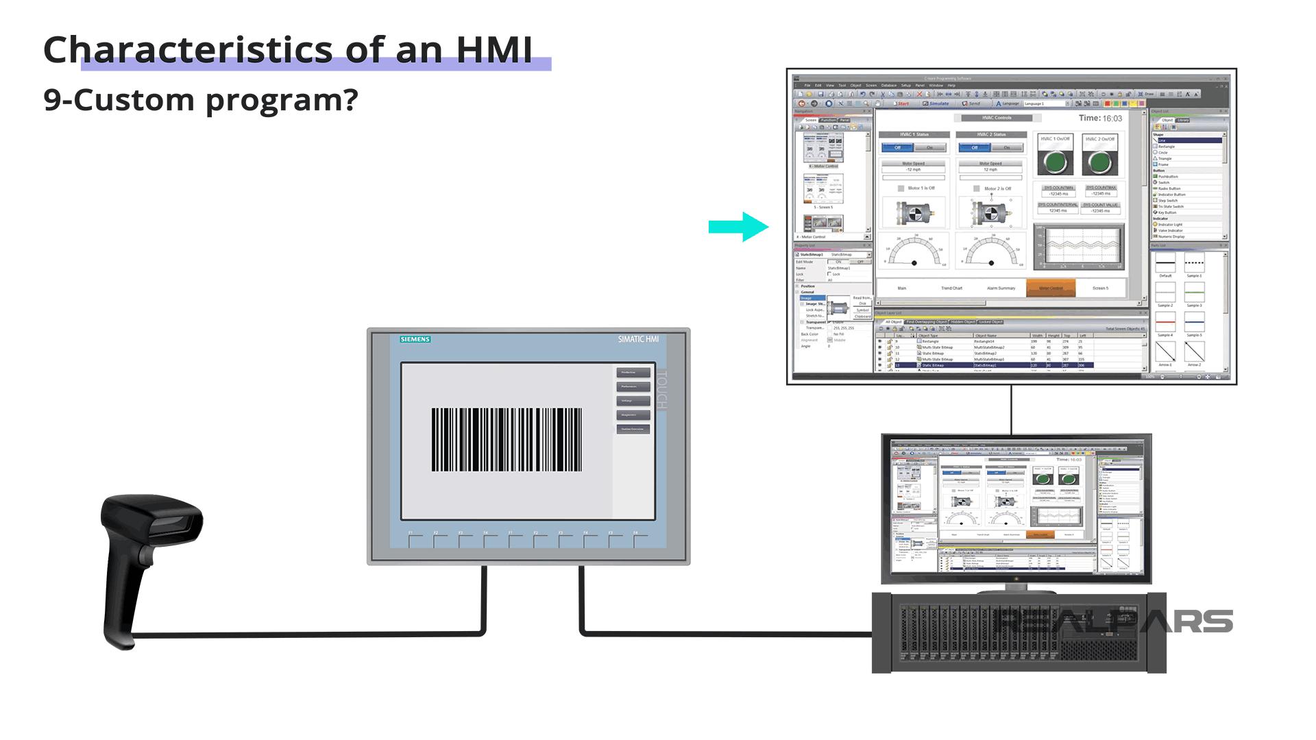 HMI Custom Programs