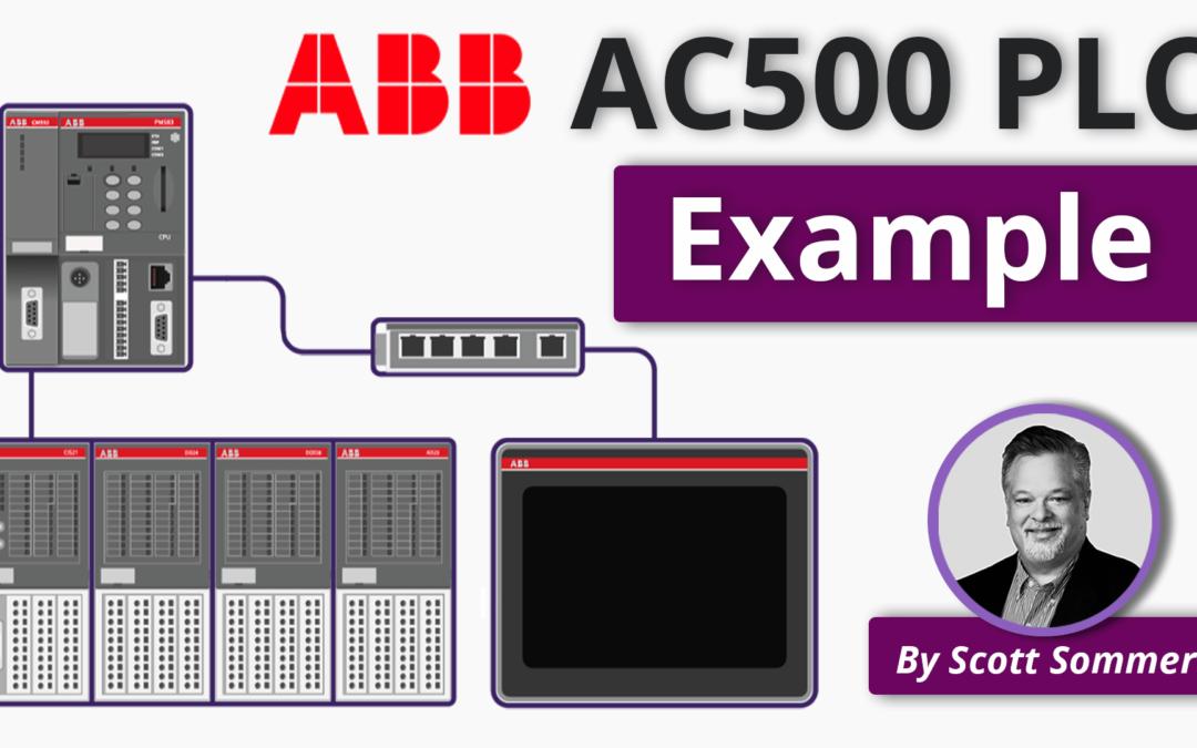 Applying an ABB PLC to a Small Process