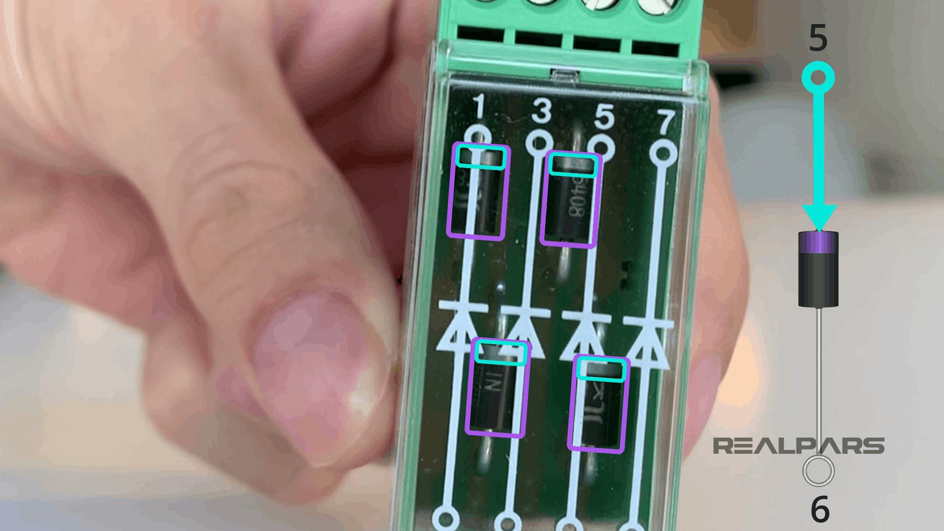 Diode Module Inside