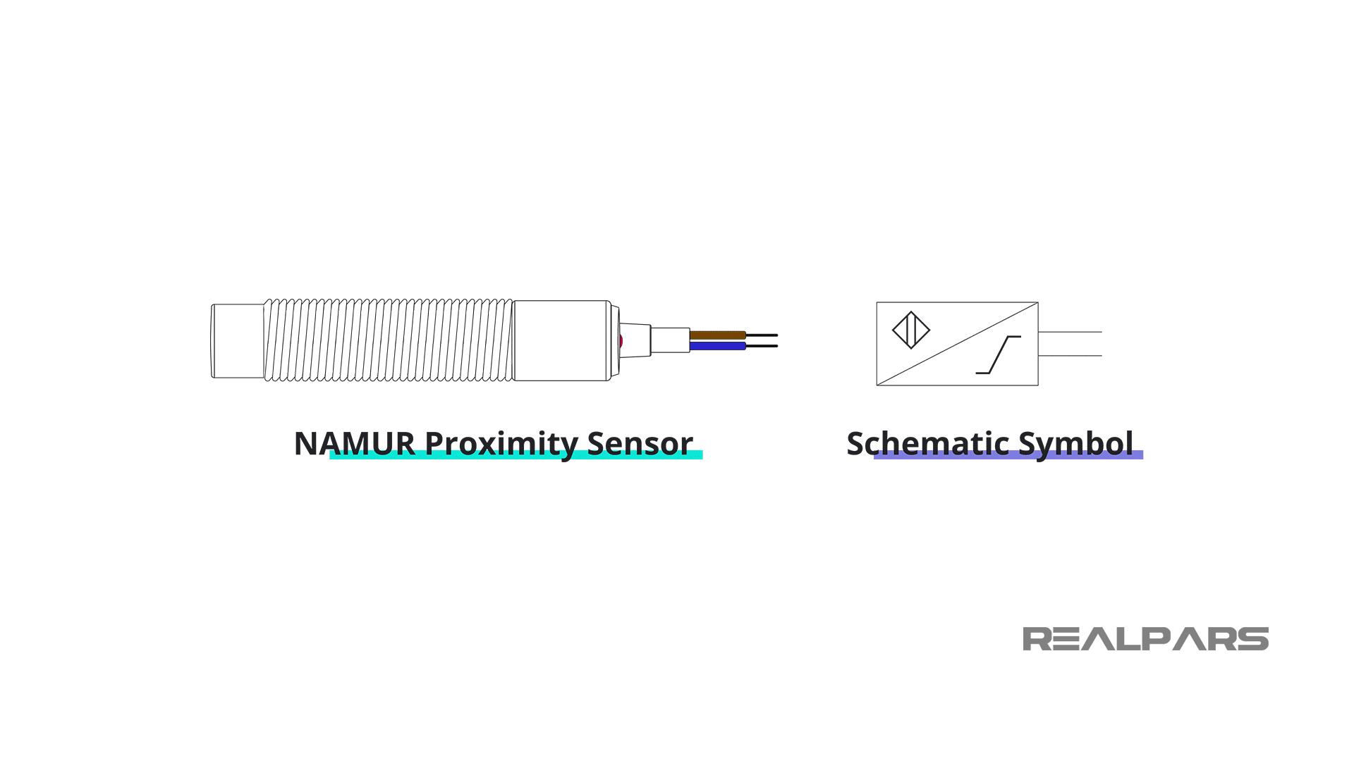 NAMUR Sensor Schematic Symbol