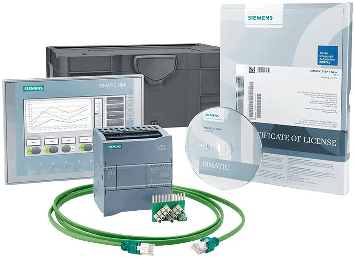 S7-1200 PLC +KTP700 Basic HMI starter kit - 6AV6651-7DA02-3AA4