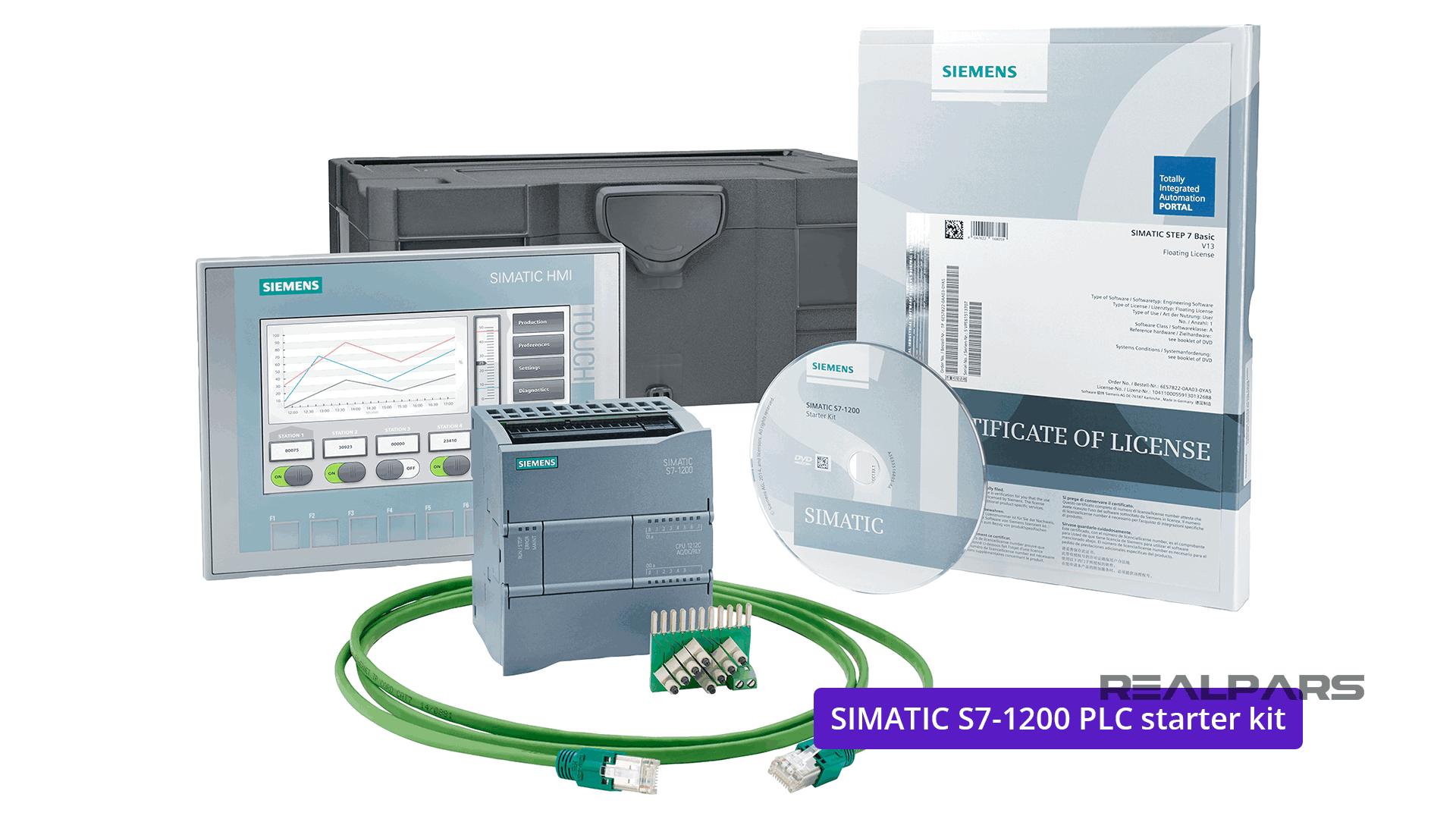S7-1200 PLC +KTP700 Basic HMI starter kit