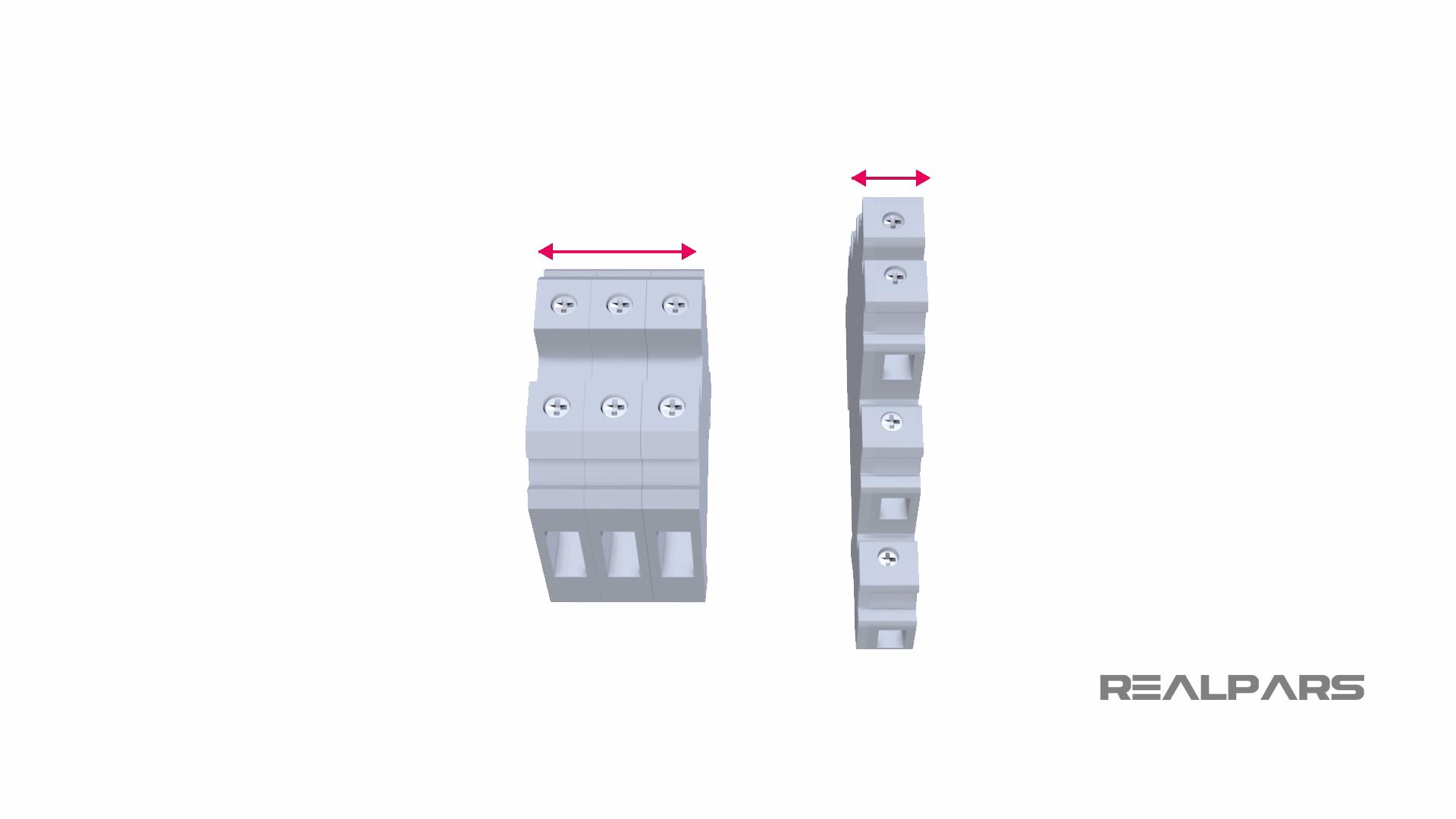 Multi-Level Terminal Blocks