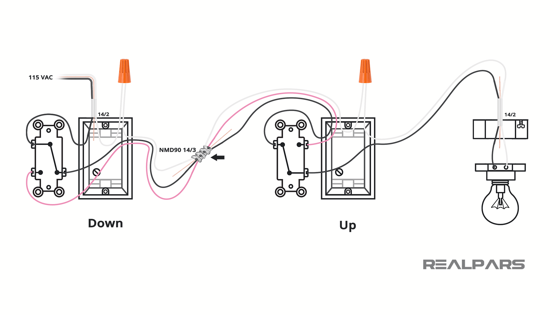 SPDT switch wiring explained