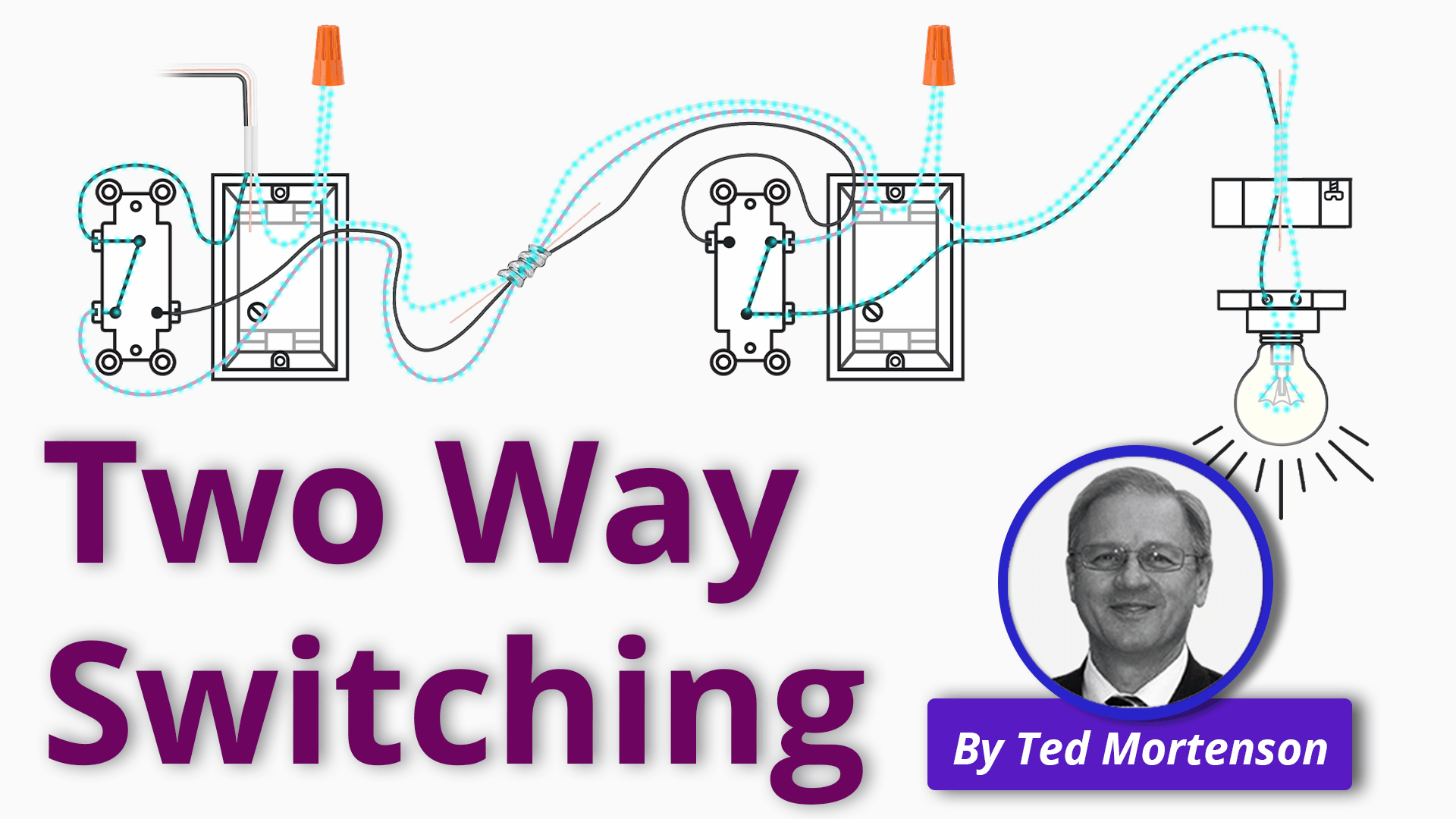 Two Way Switching Explained   How to Wire 40 Way Light Switch ...