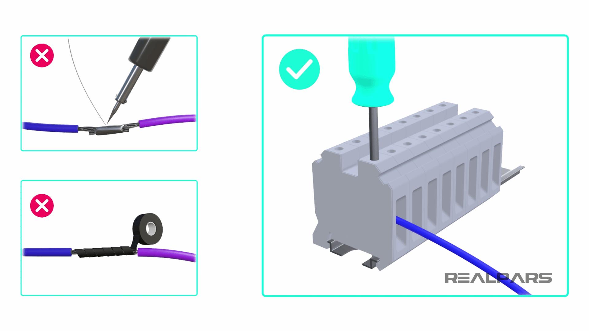 Why use Terminal Blocks