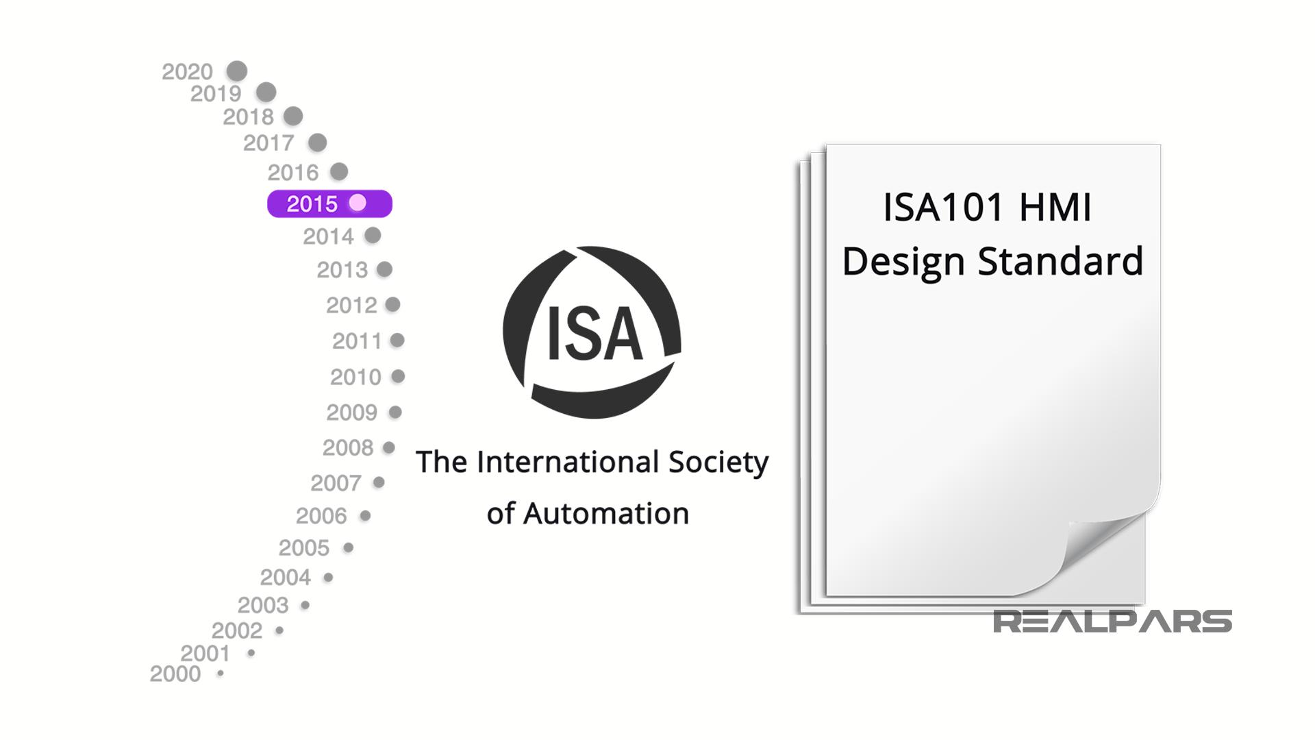 ISA-101 HMI Design Standard