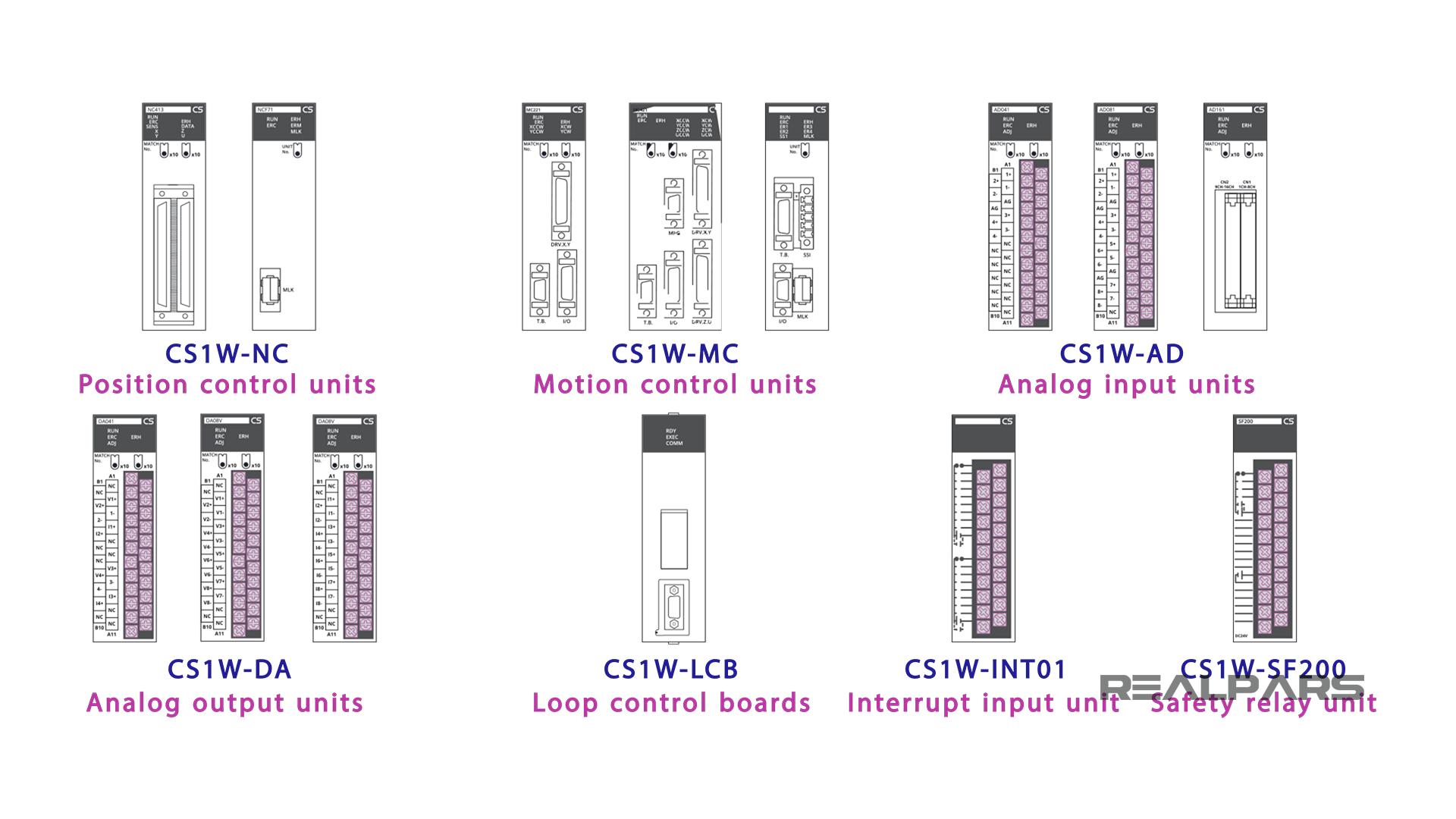 CS1 modules