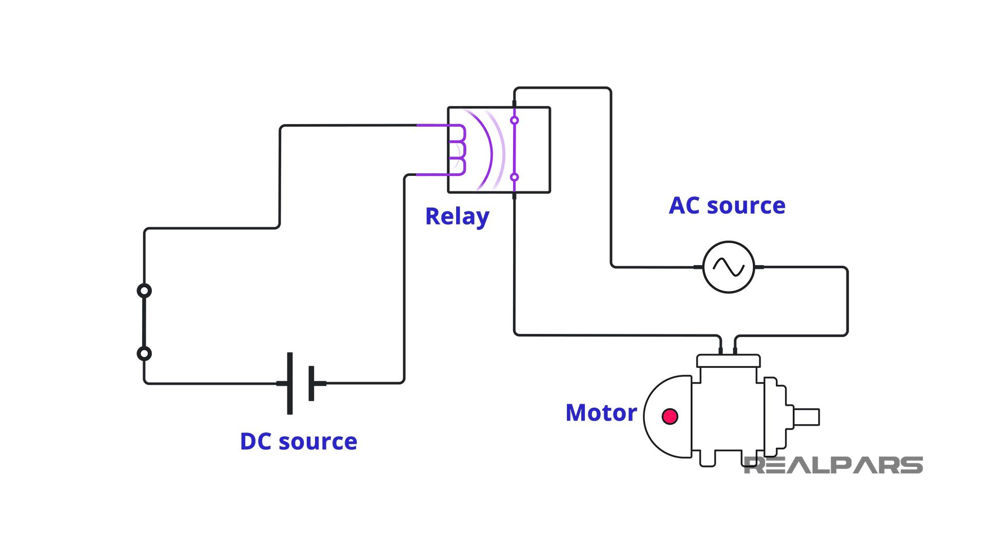 PLC digital output relay module