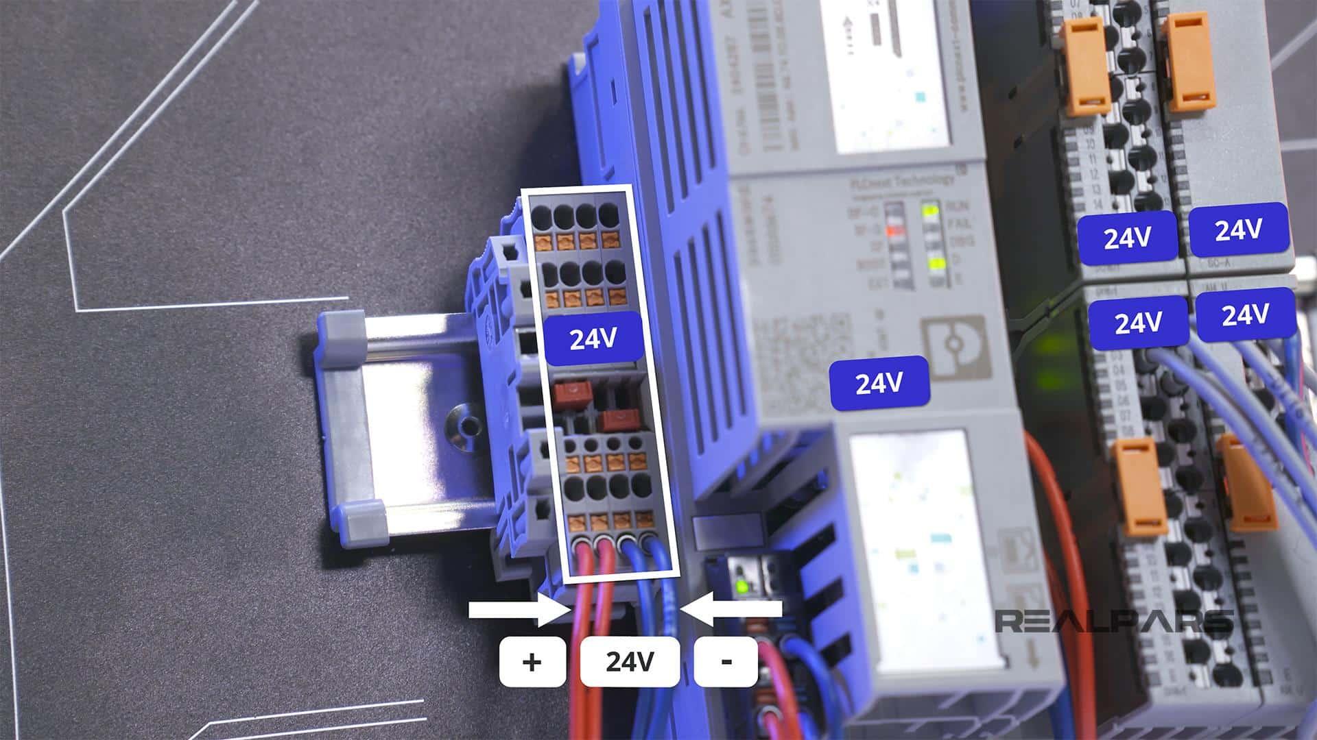 24 Volt Power Supply