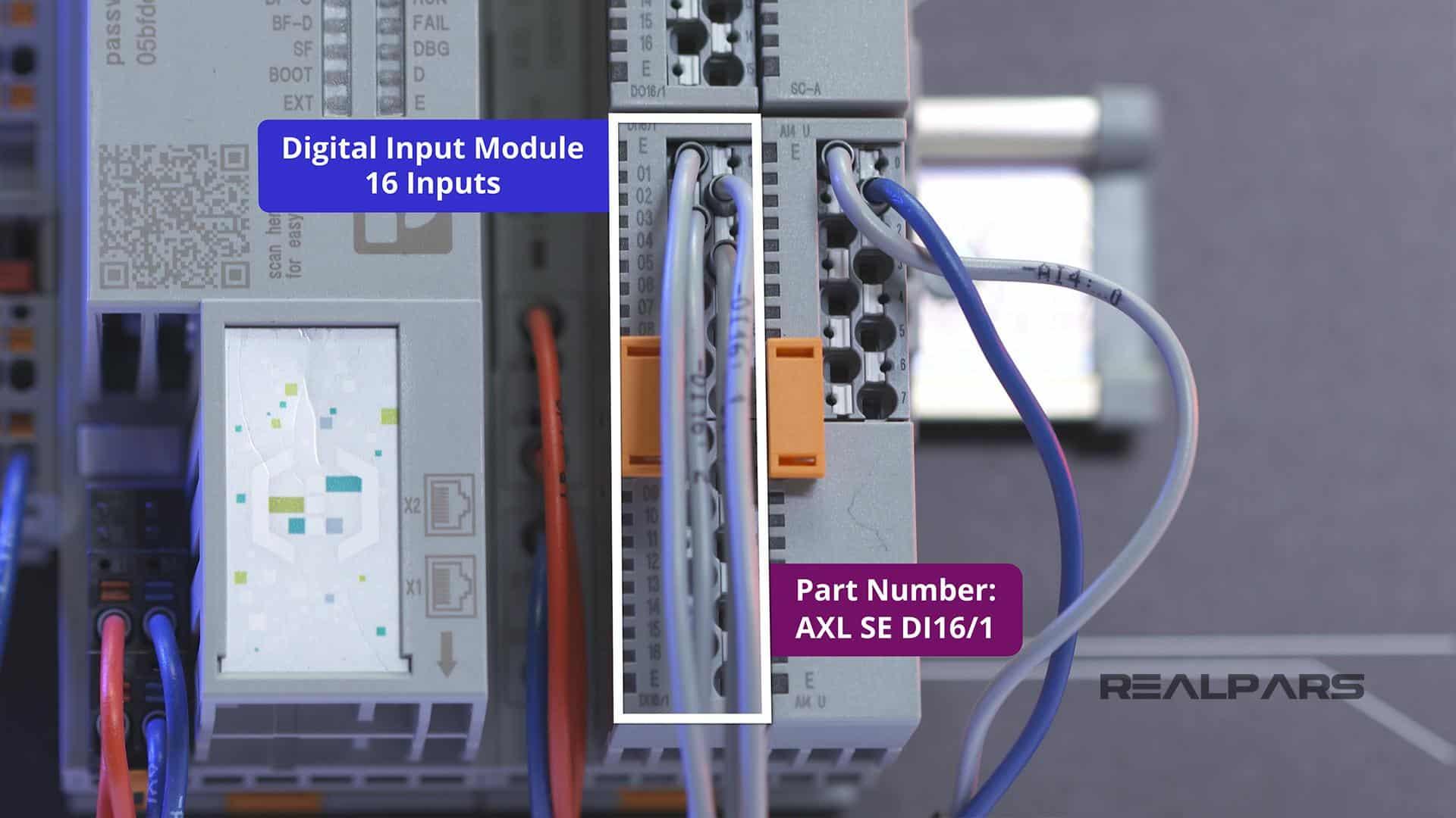 AXL SE DI16 1Digital Input Module