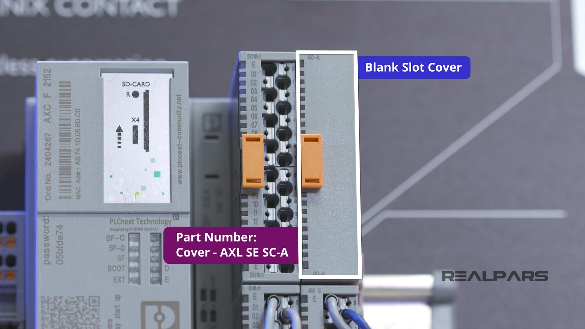AXL SE SC-A Smart Element Cover