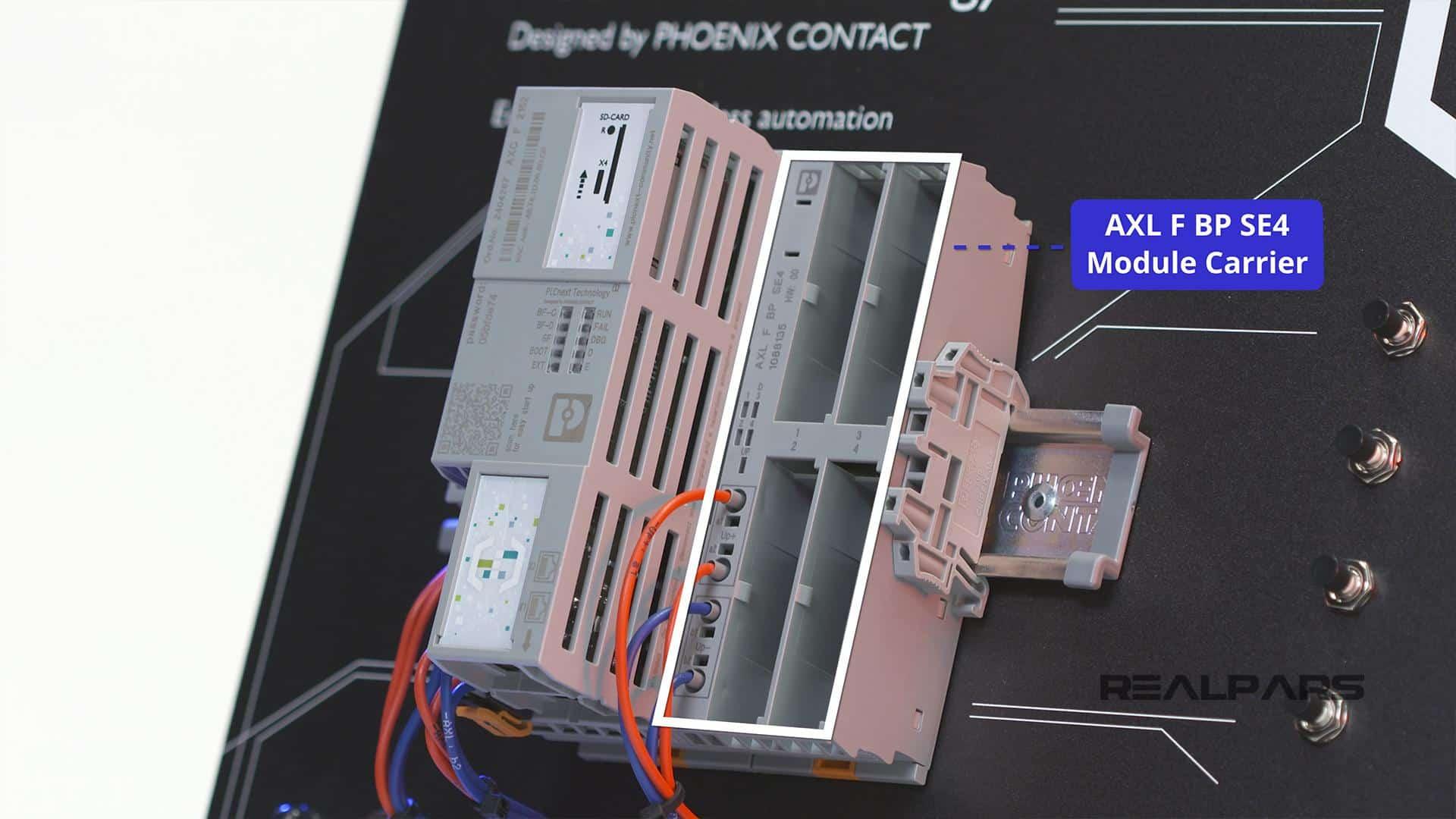 AXL F BP SE4 Module Carrier