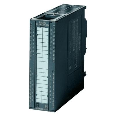 SIMATIC S7-300, Digital output SM 322, isolated, 8 DO, 24 V DC, 2A, 1x 20-pole
