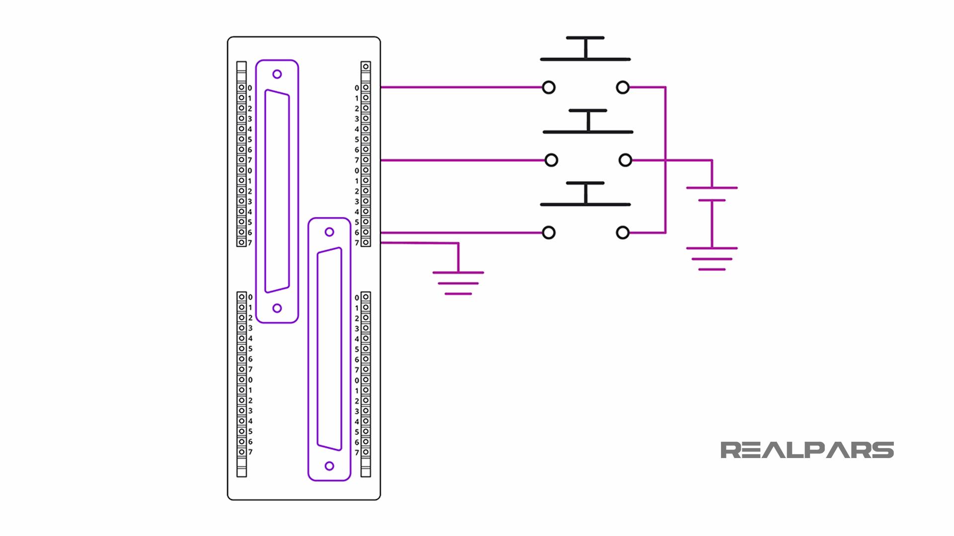 64-Input DI Module