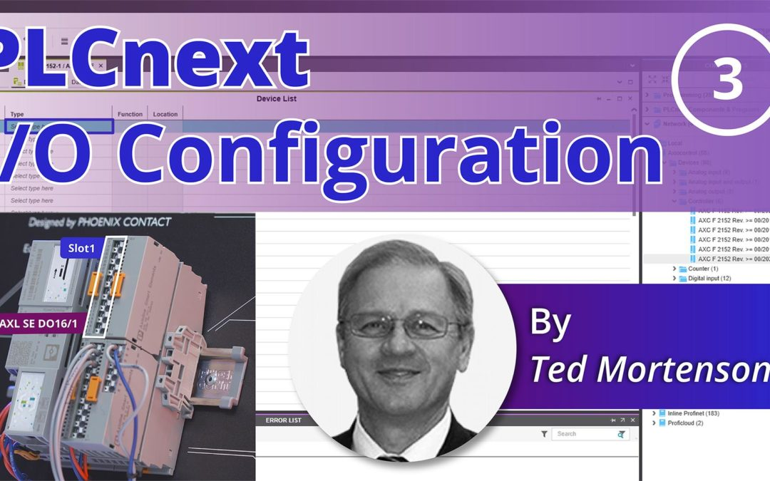 Phoenix Contact PLCnext | How to Configure the I/O Modules