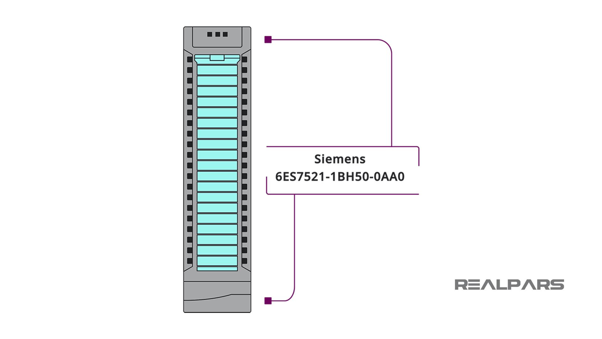 Siemens Digital Input module 6ES7521-1BH50-0AA0