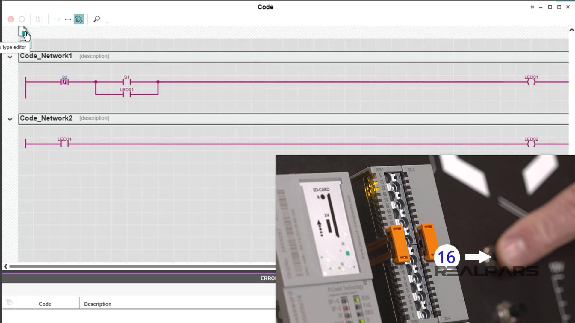 Monitor The Program Test - S1