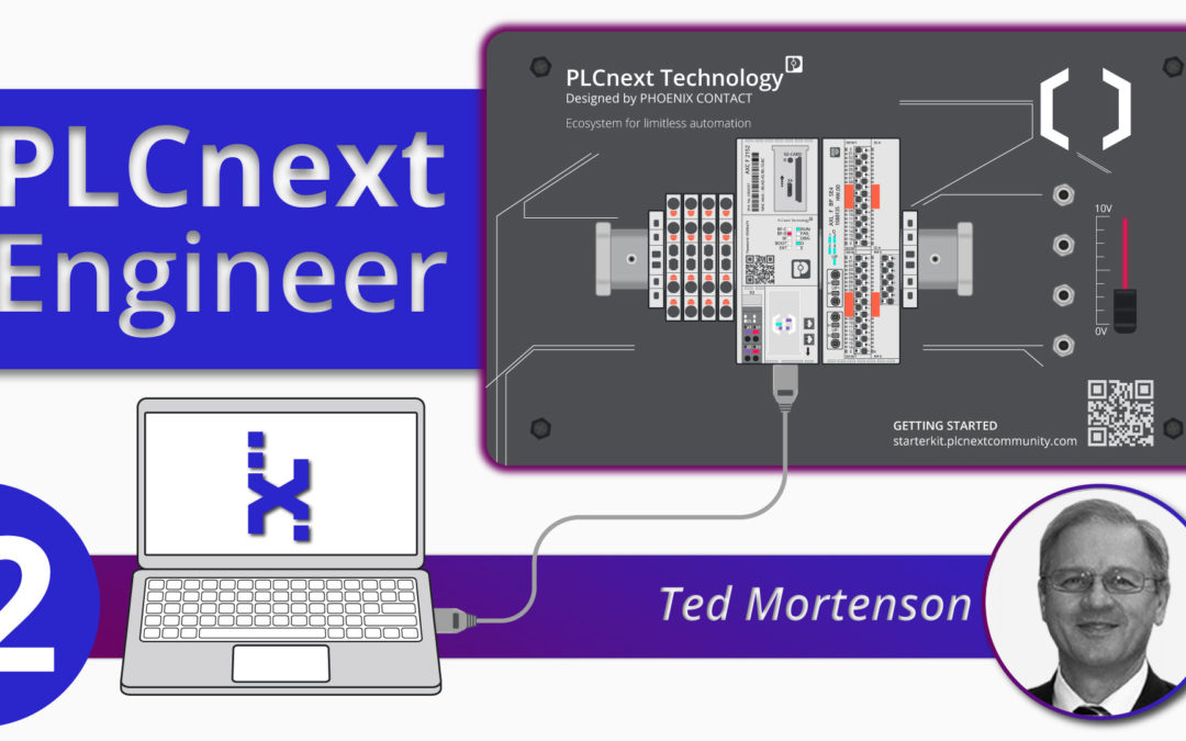 PLCnext Engineer | Create a New Project and Configure Ethernet Port
