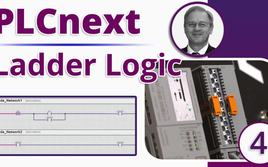 PLCnext Ladder Logic | How to Easily Create Ladder Logic Programs