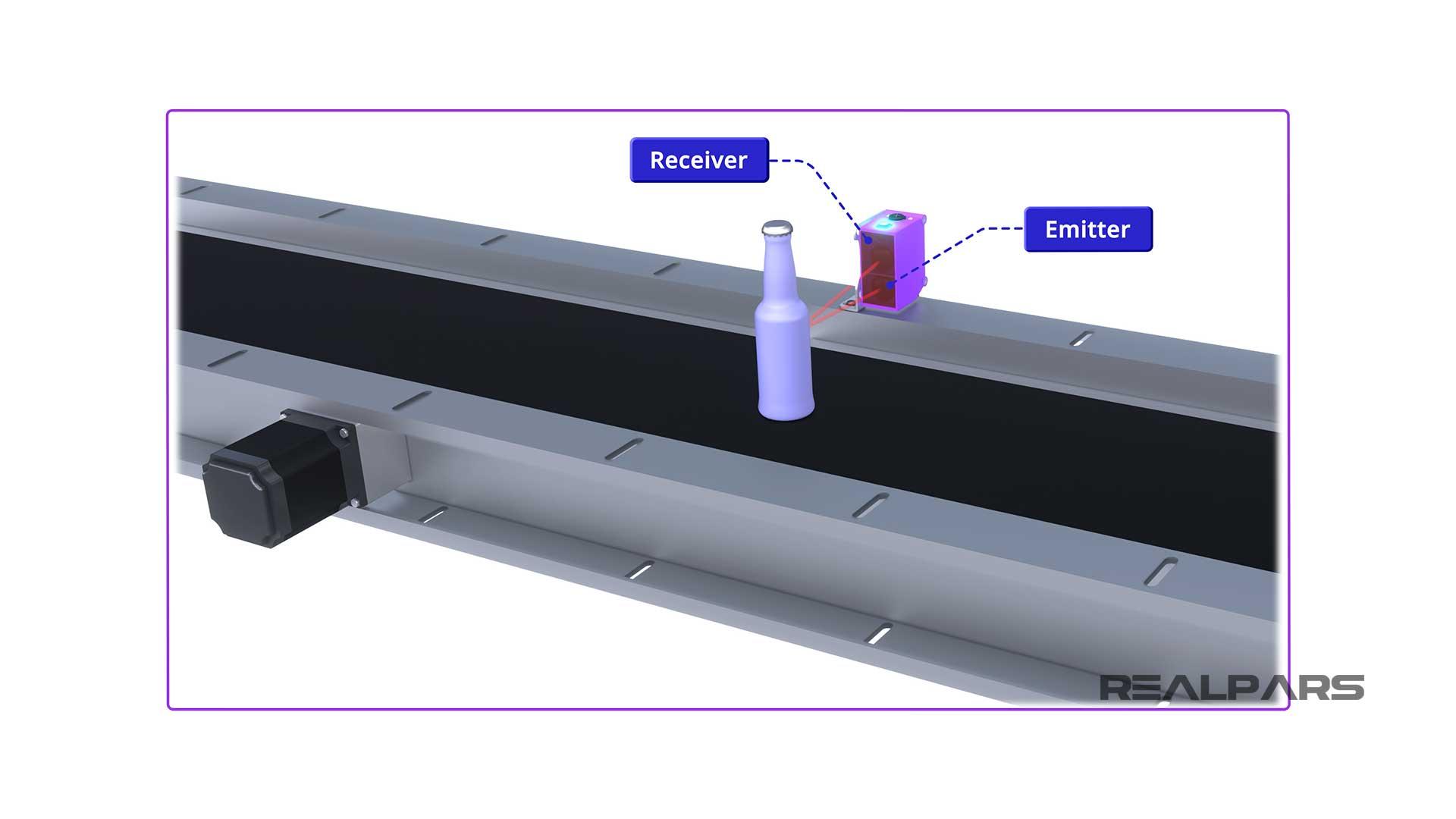 Diffused-photoelectric-sensor