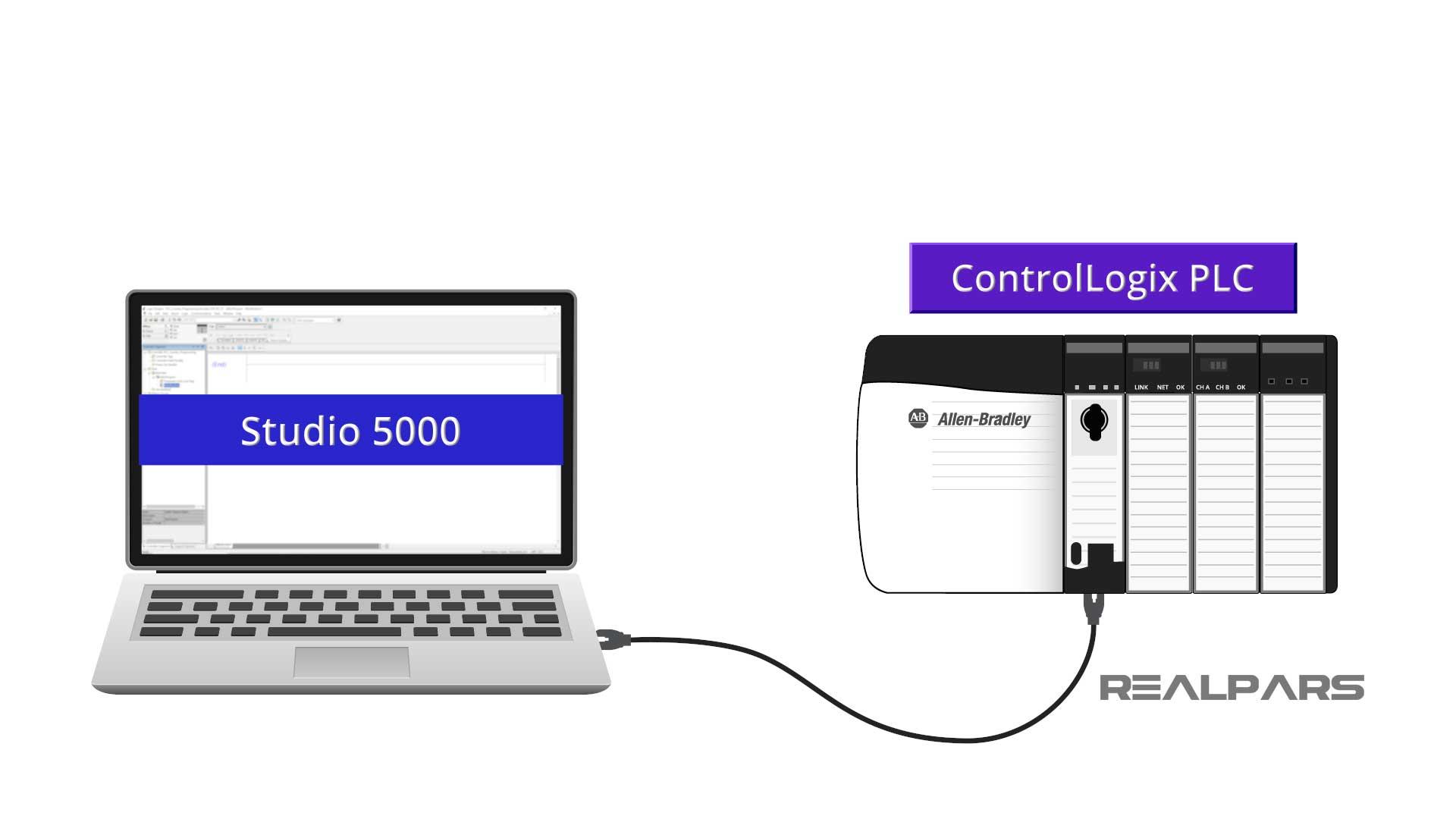Studio 5000 PLC counter
