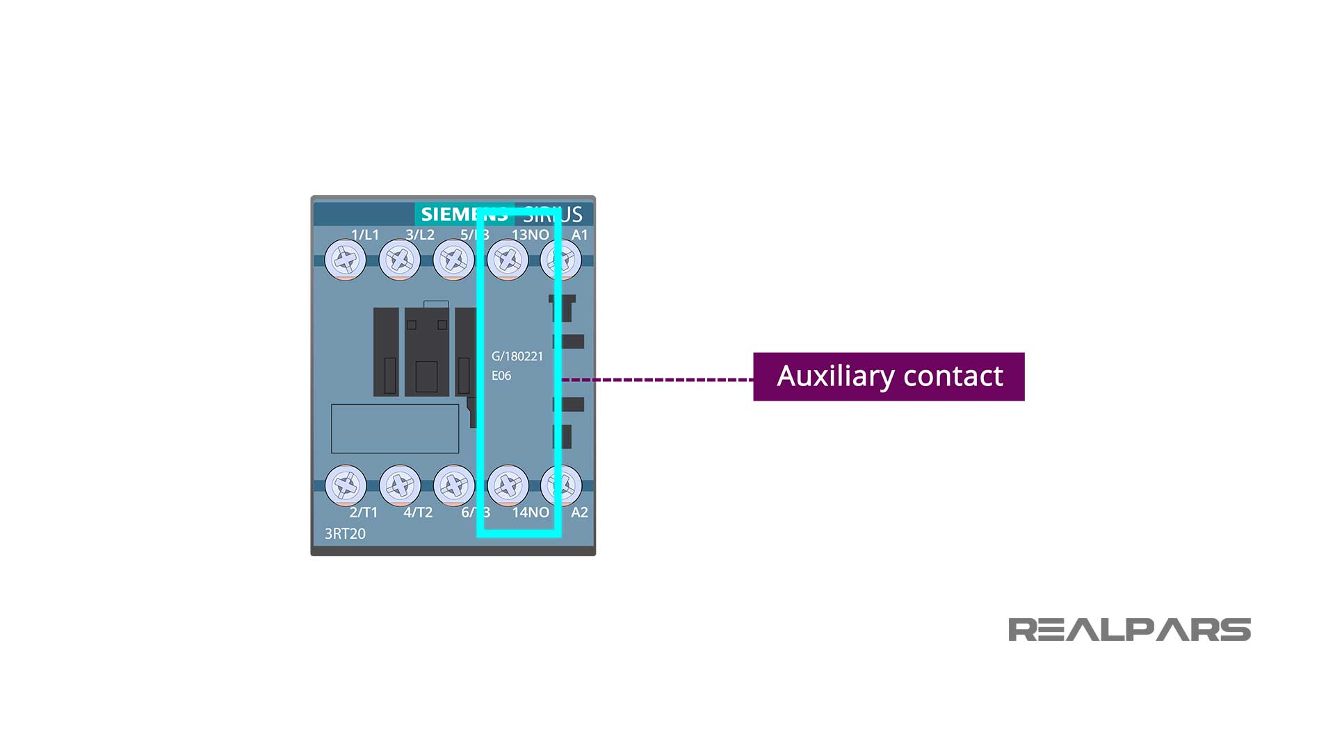 Auxiliary contact
