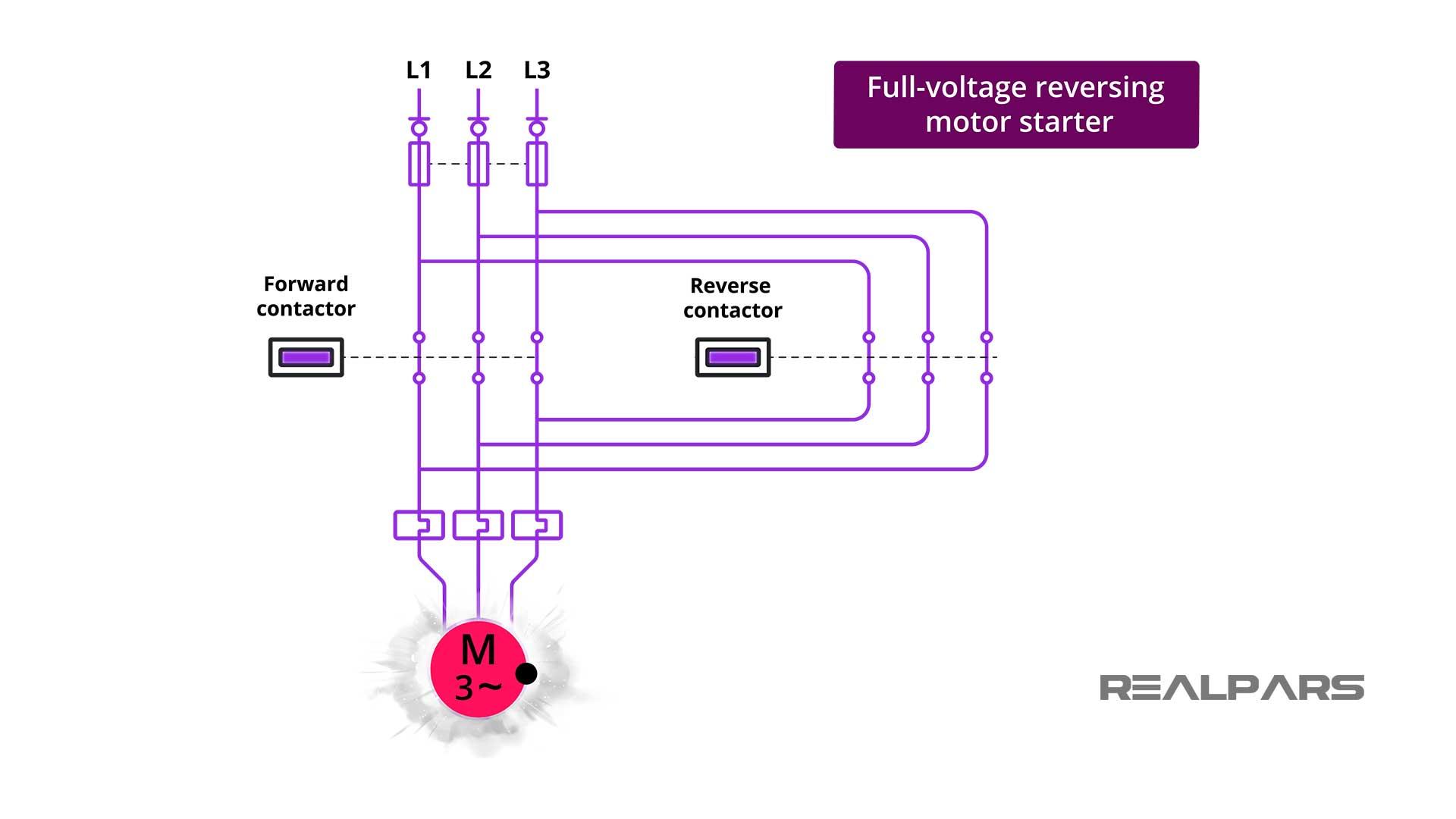 Full-Voltage-Reversing-Motor-Starter