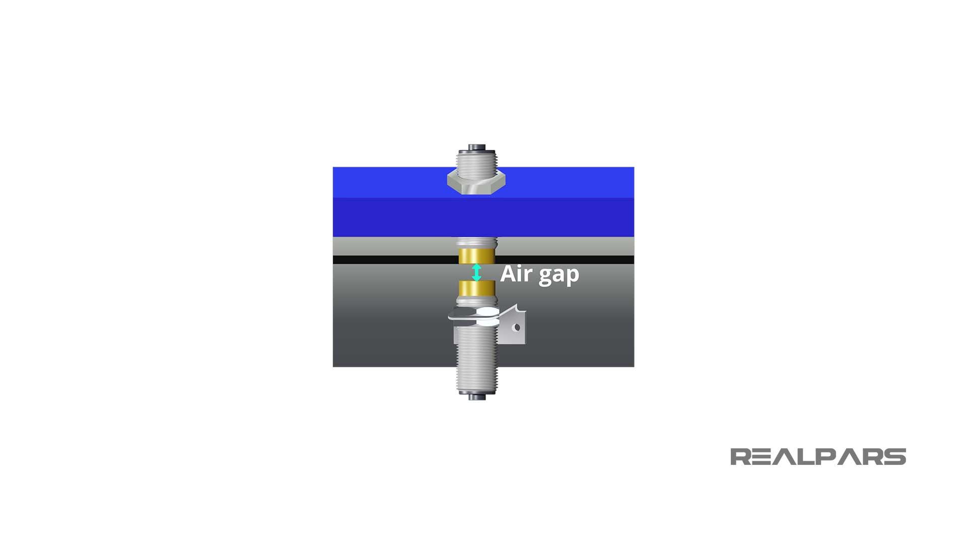 Inductive-coupler-air-gap