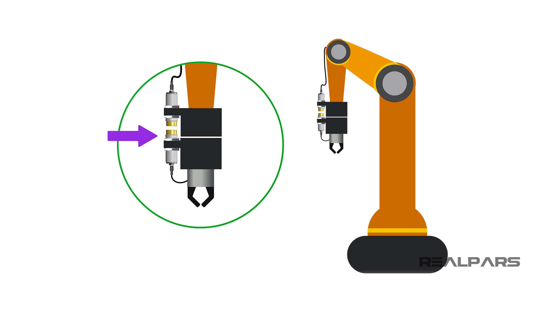 Robot's-end-of-arm-tooling